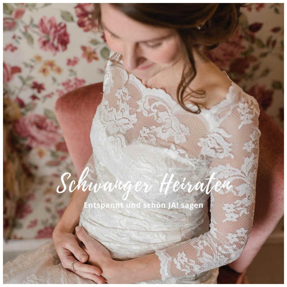 Brautkleider Für Schwangere – Umstandsmode Von Hippie Bis - Abendkleid