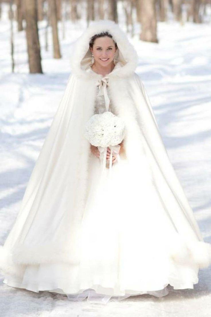 Brautkleider Im Winter-Style | Hochzeit Jacke