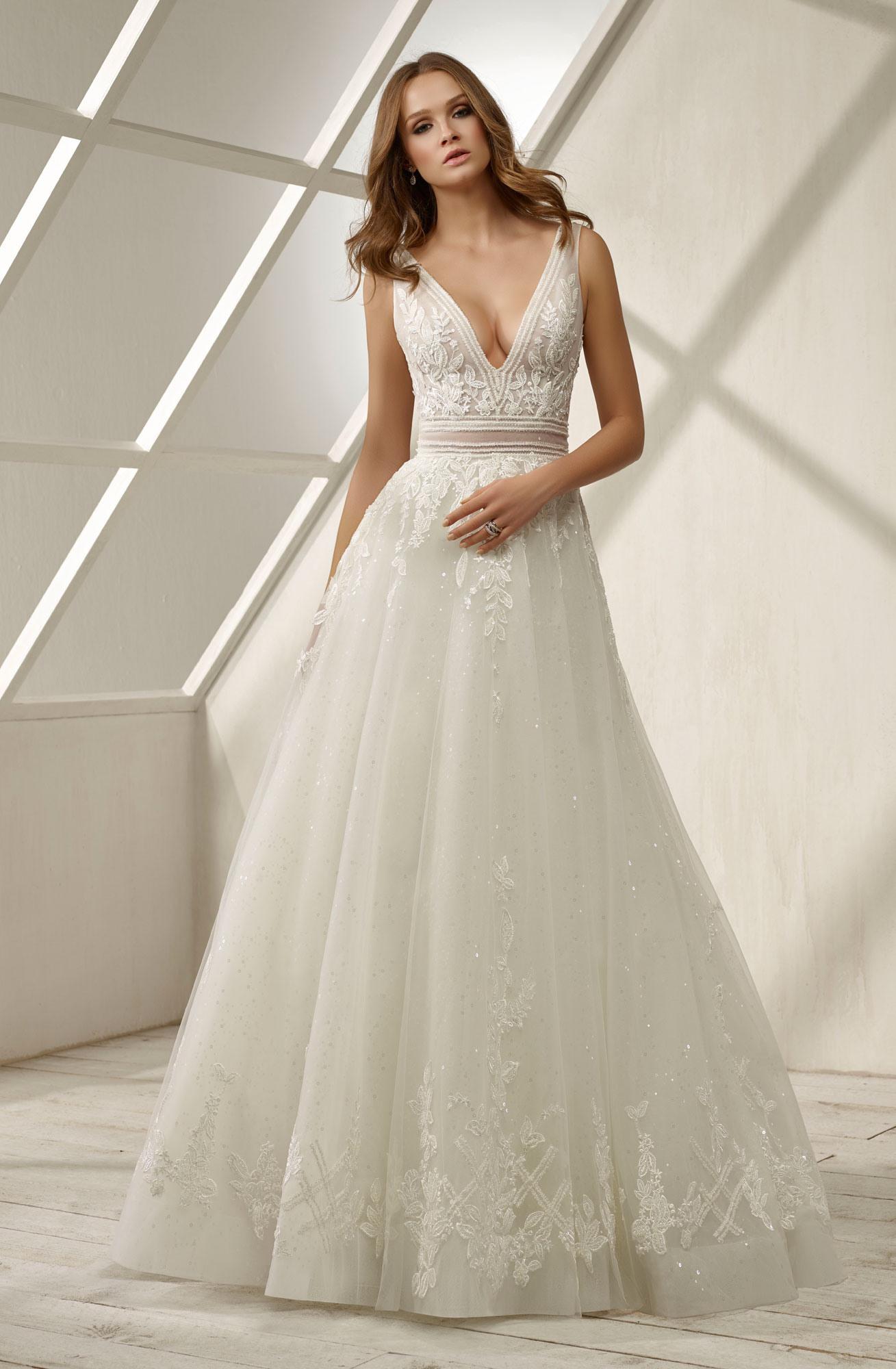 Brautkleider Spitze  Hochzeitskleider Mit Spitze - Edel - Abendkleid