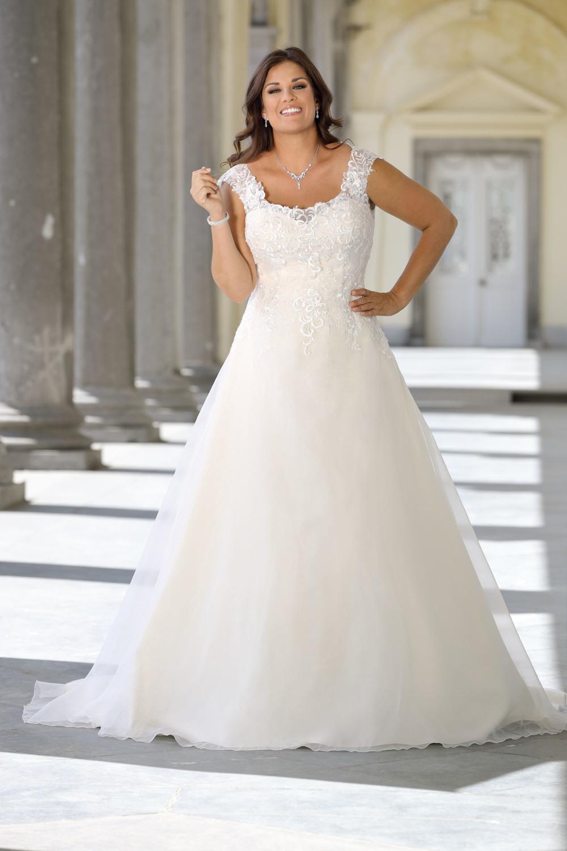 Brautkleider Xxl - Hochzeitskleider Xxlladybird Brautmoden