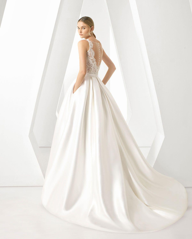 Brautmode Rosa Clara | Kleid Hochzeit, Zweite