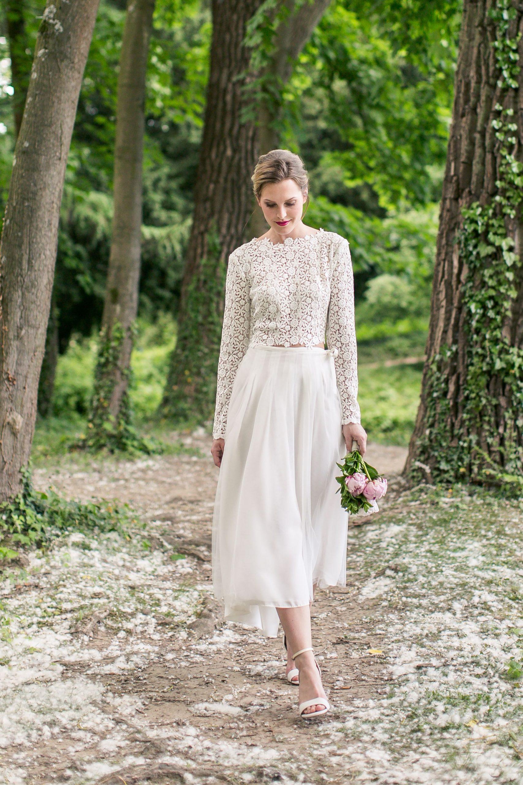 Brautmode Von Isi Lieb Aus Düsseldorf | Zivil Hochzeits