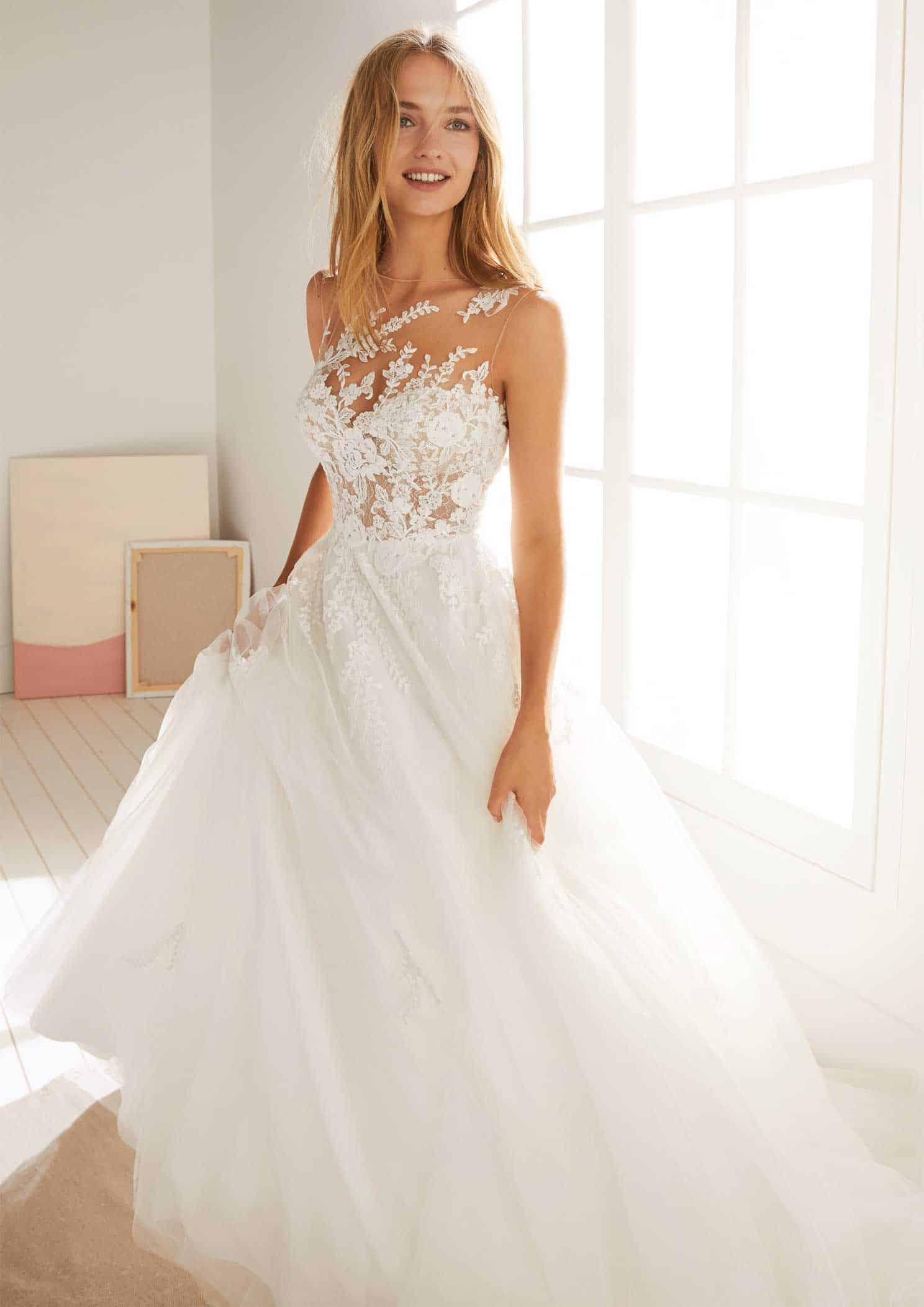 Brautmode White One | Brautkleid Oropesa - Anna Moda