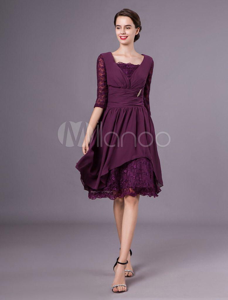 Brautmutterkleider A-Linie- Abendkleider Für Hochzeit ...