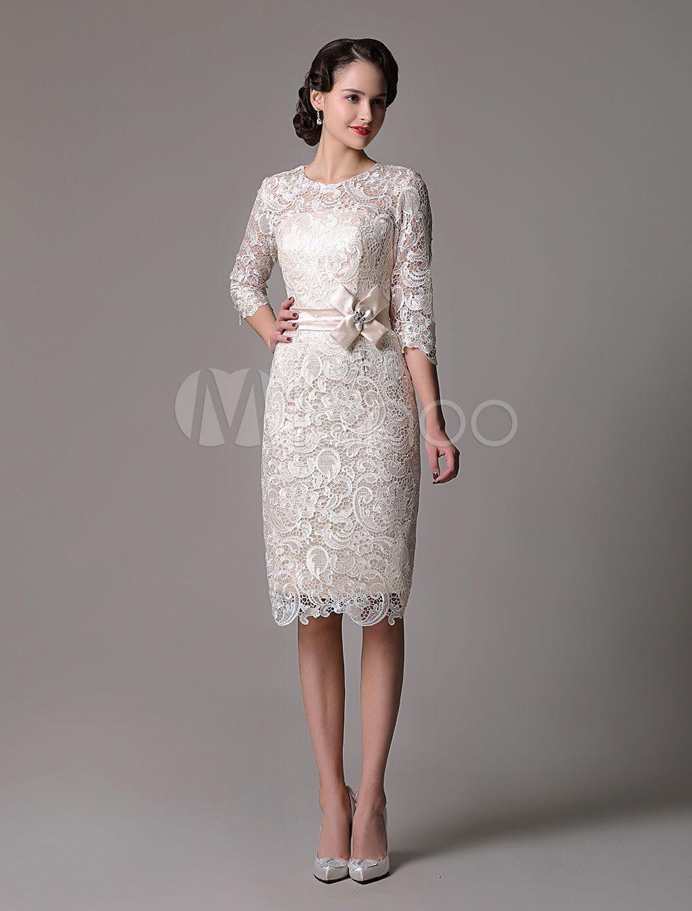 Brautmutterkleider Etui- Abendkleider Für Hochzeit