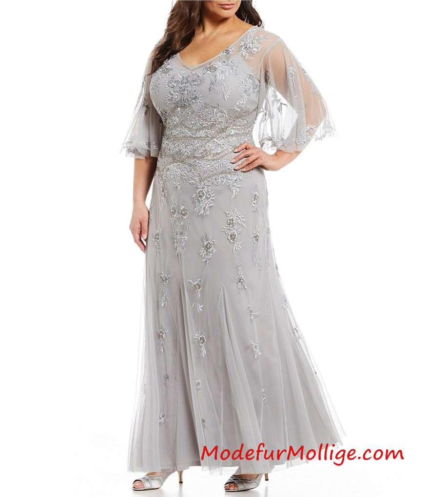 festliche kleider zur hochzeit für brautmutter lang - abendkleid