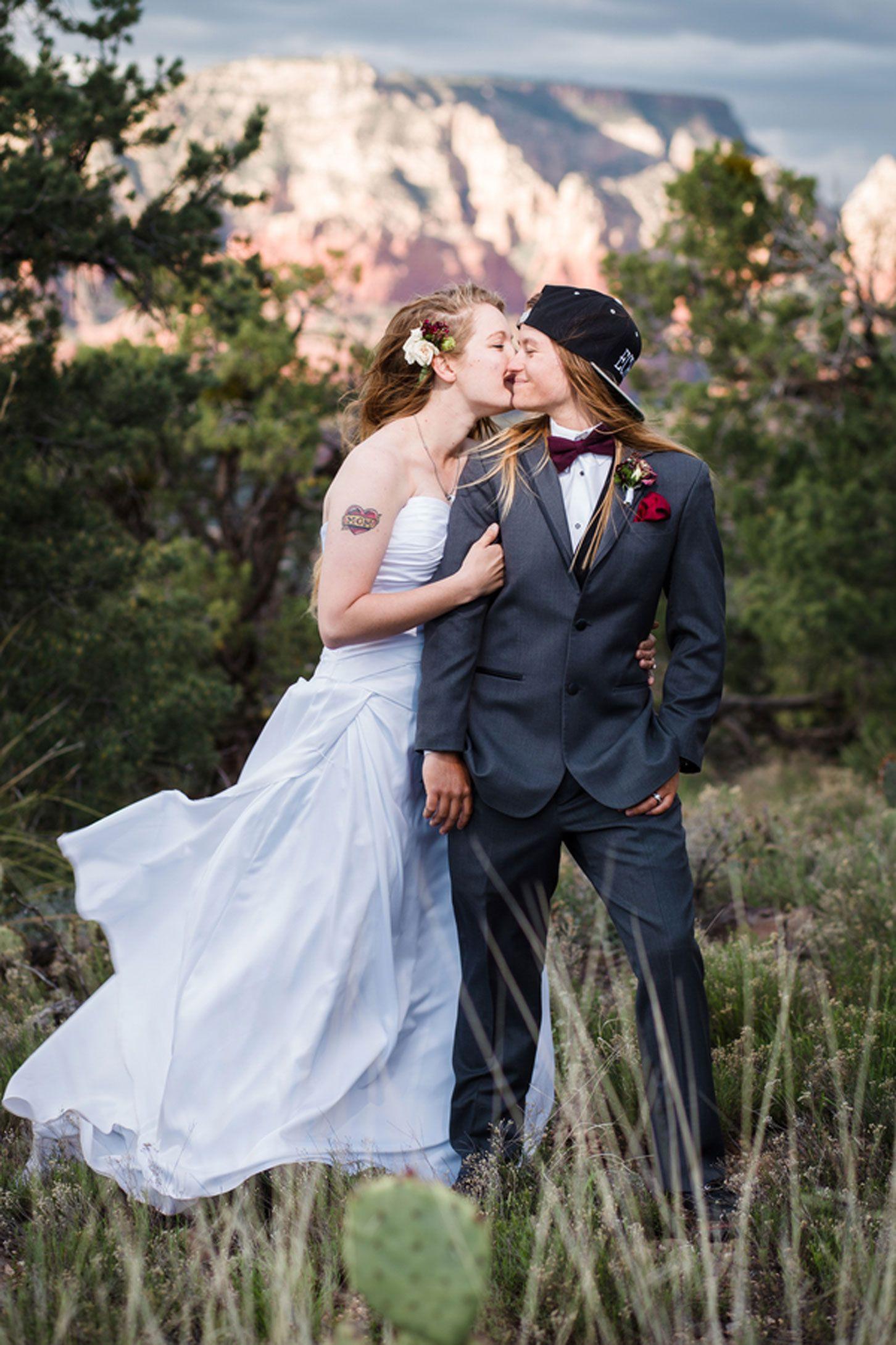 Bridal Photo | Lesbische Hochzeit, Homosexuelle Hochzeit