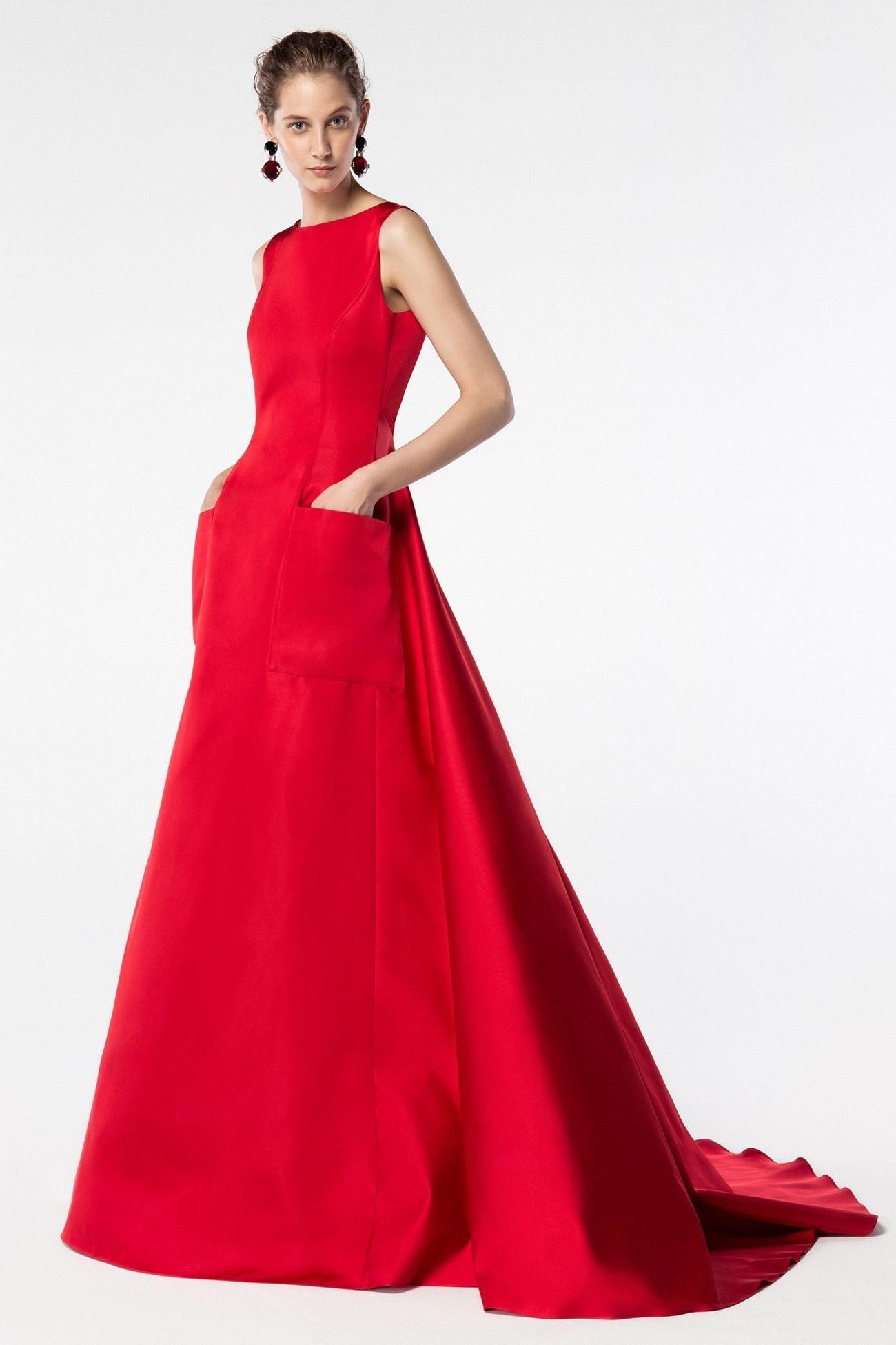 rotes kleid hochzeit quiz - abendkleid