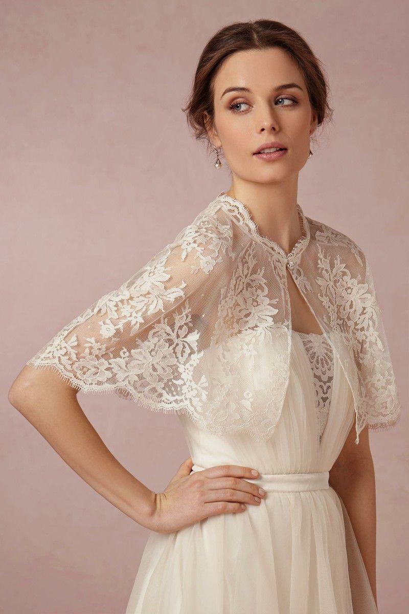 Chantilly Capelet | Spitzen Hochzeiten, Hochzeit Bolero Und