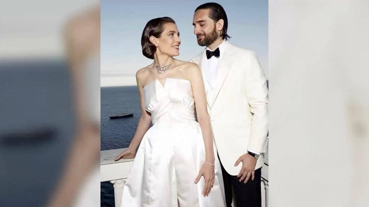 Charlotte Casiraghi: Ihr Brautkleid Wirkte Wie Eine Hommage