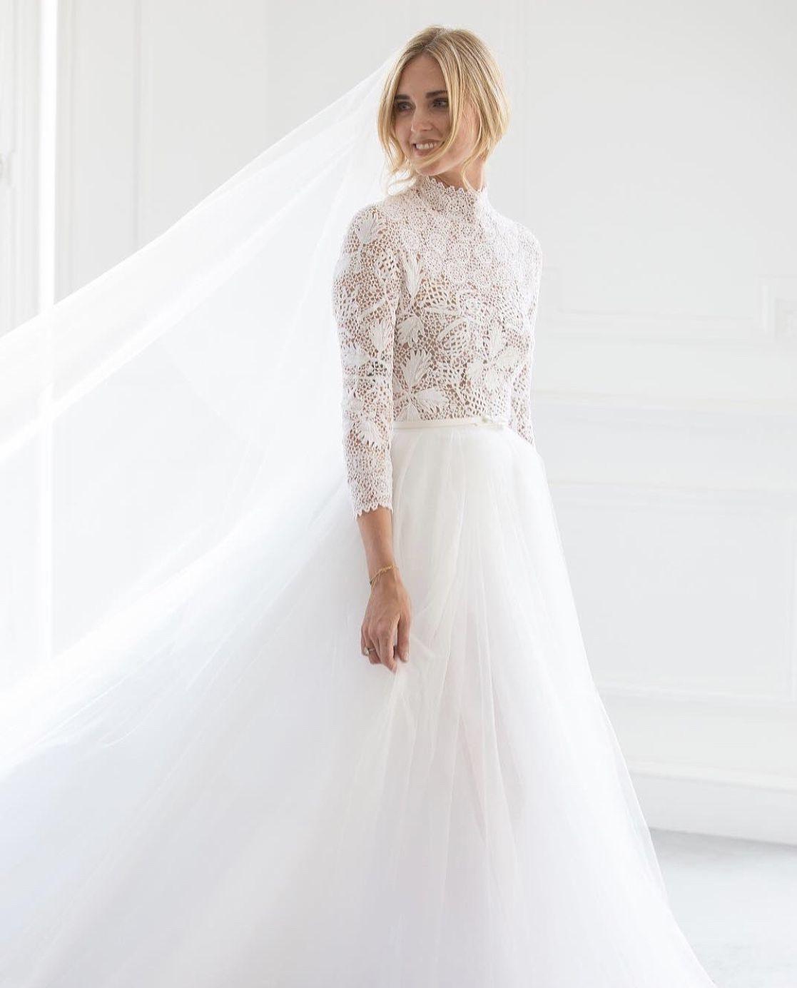 Chiara Ferragni Wedding Dressdior // | Kleid Hochzeit