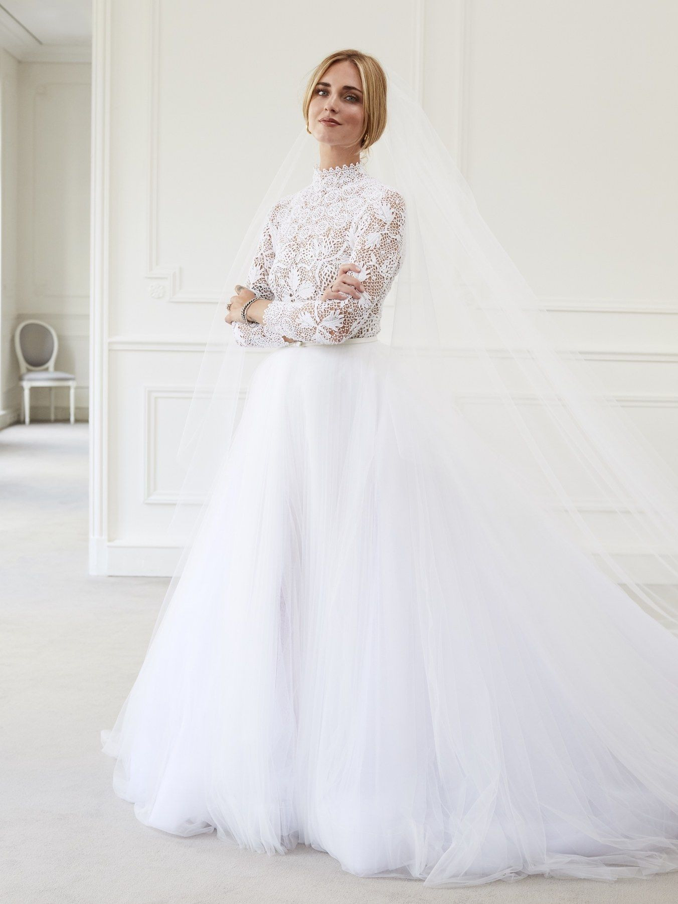 Chiara Ferragni's Wedding Dresses Explained,the Blonde