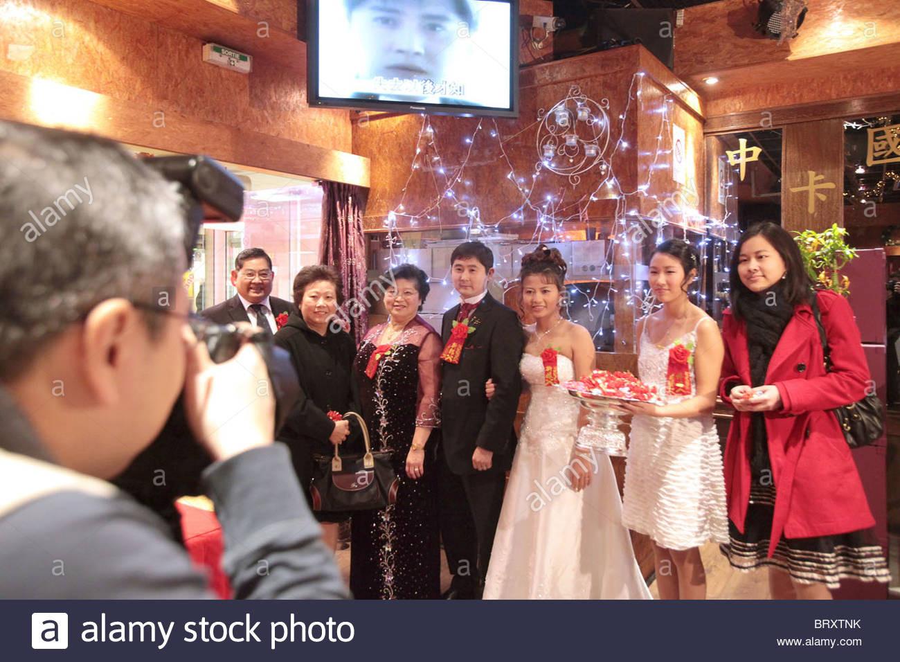 Chinesische Hochzeit Stockfotos & Chinesische Hochzeit