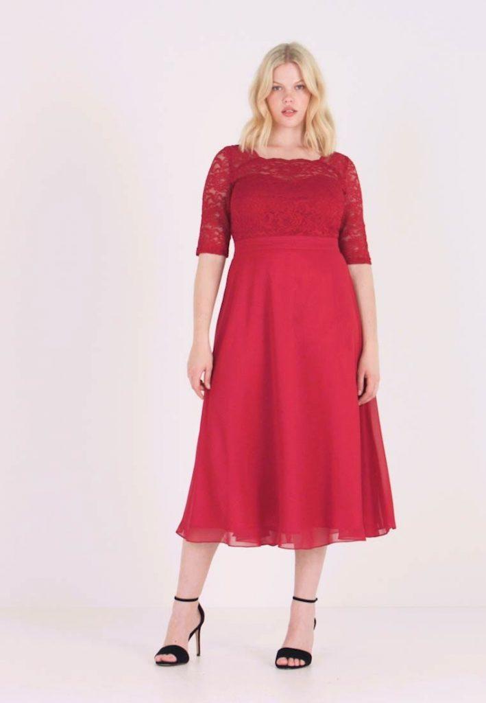 Cocktailkleid/festliches Kleid - Rot - Abendkleid