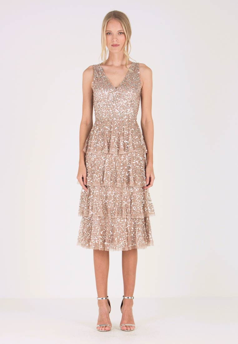 Cocktailkleid/festliches Kleid - Taupe Blush
