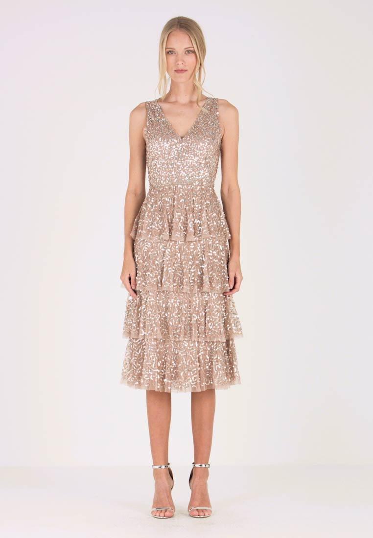 Cocktailkleid/festliches Kleid - Taupe Blush