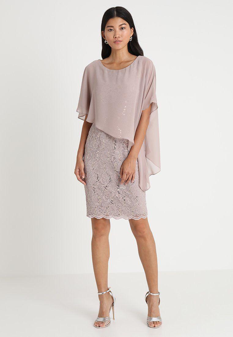 Cocktailkleid/festliches Kleid - Taupe @ Zalando.de 🛒 In ...