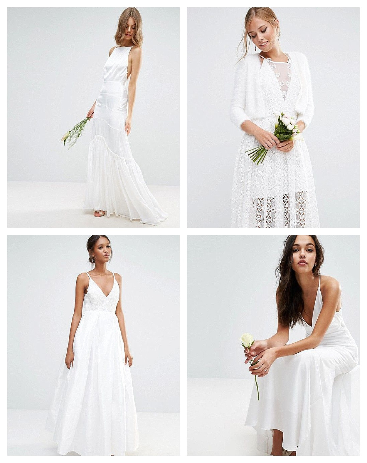 Coole Brautkleider Für Das Standesamt Oder Boho Hochzeit