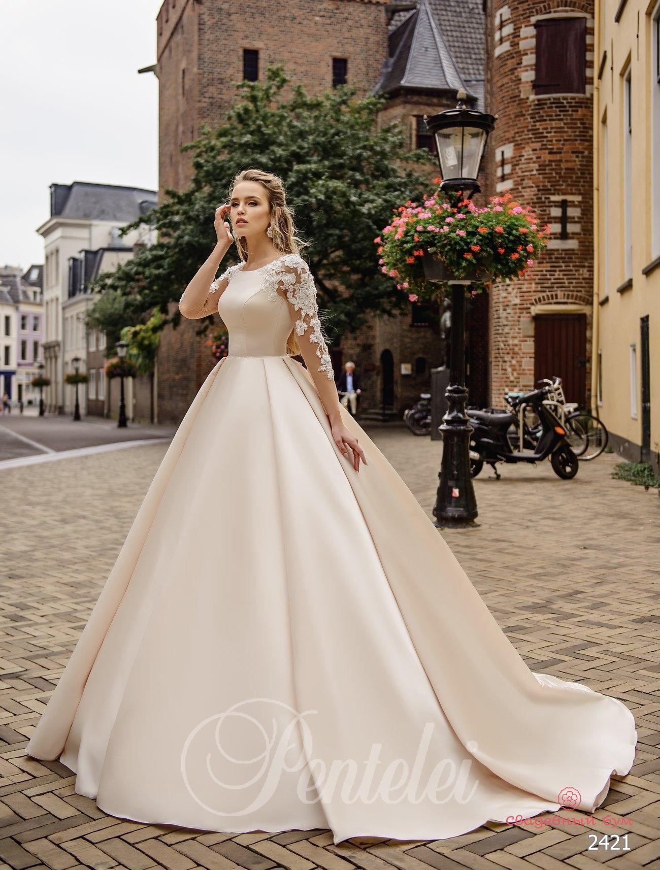 Весільня Сукня Pentelei 2421 - Інтернет-Магазин «Весільний
