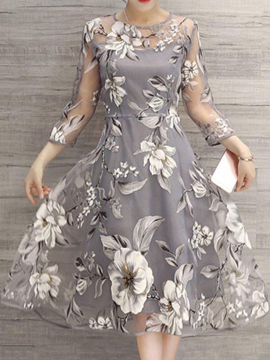 Купить Charmingtrend Женское Платье Вуаль Лето Мода 2017 Г