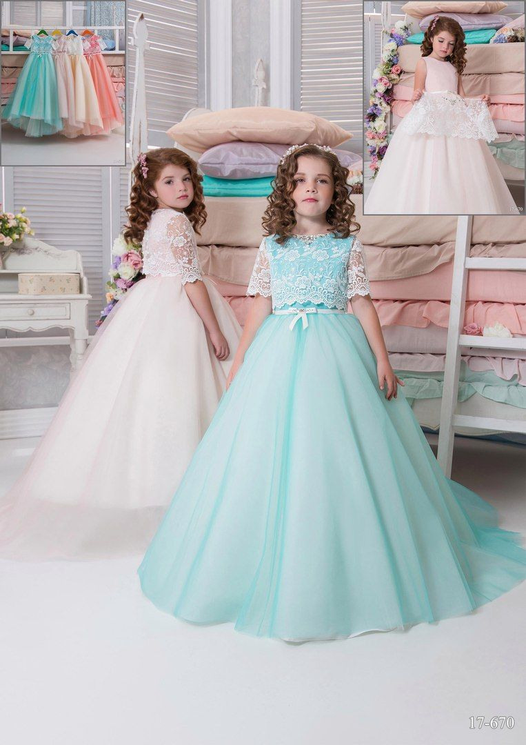 Новости | Платья С Цветами Для Девочек, Платья, Кружевной