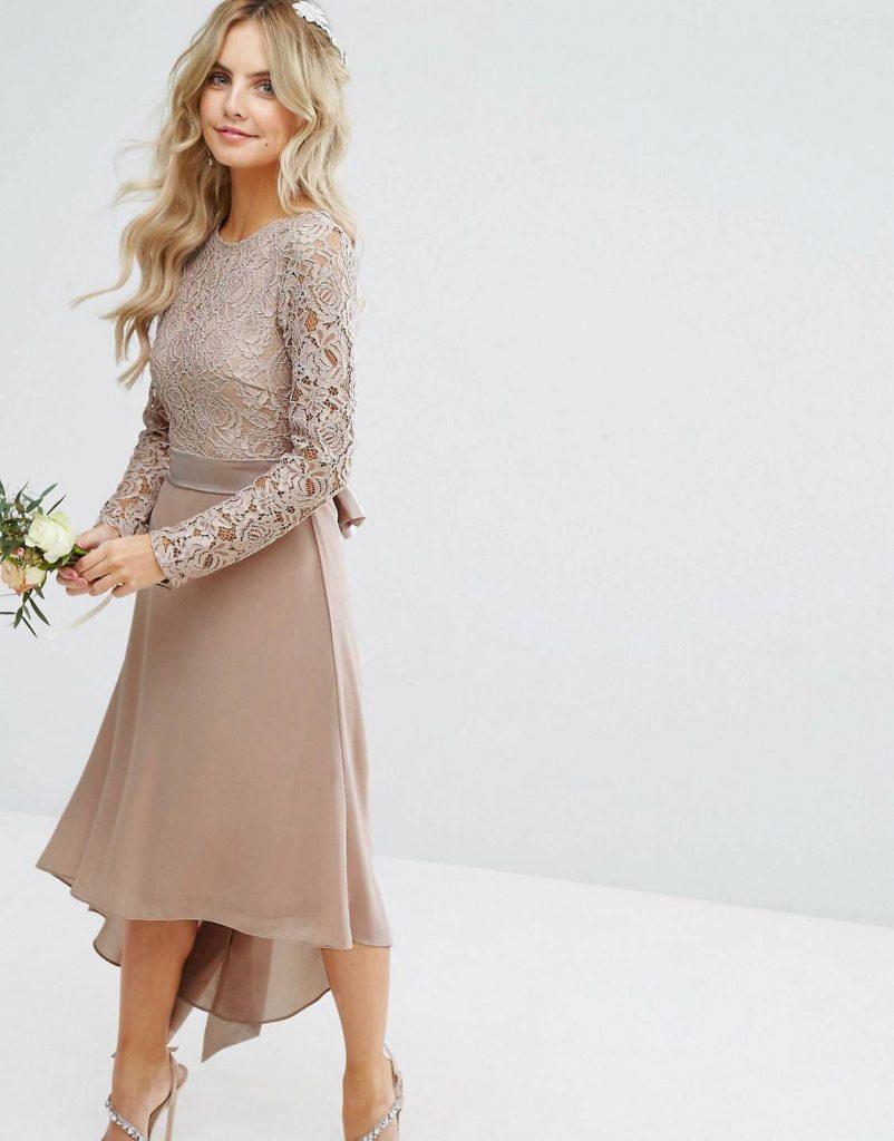 Очень Нравится От Asos!  Миниатюрные Свадебные Платья - Abendkleid