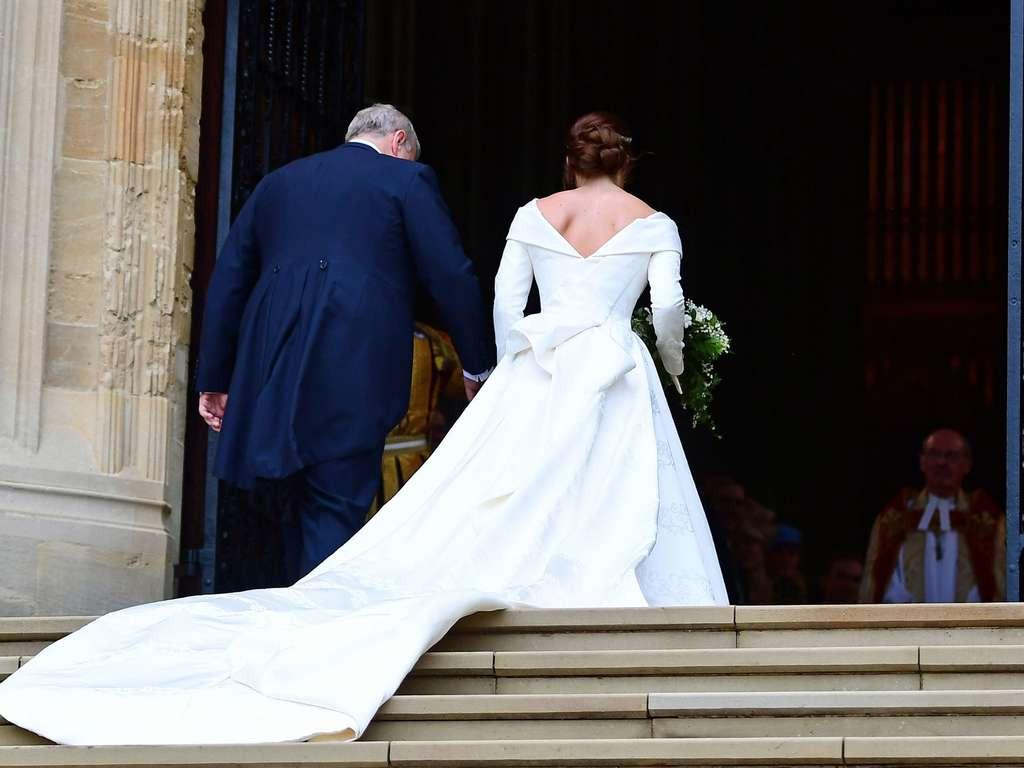 Das Brautkleid Von Eugenie: Die Schönsten Bilder Der