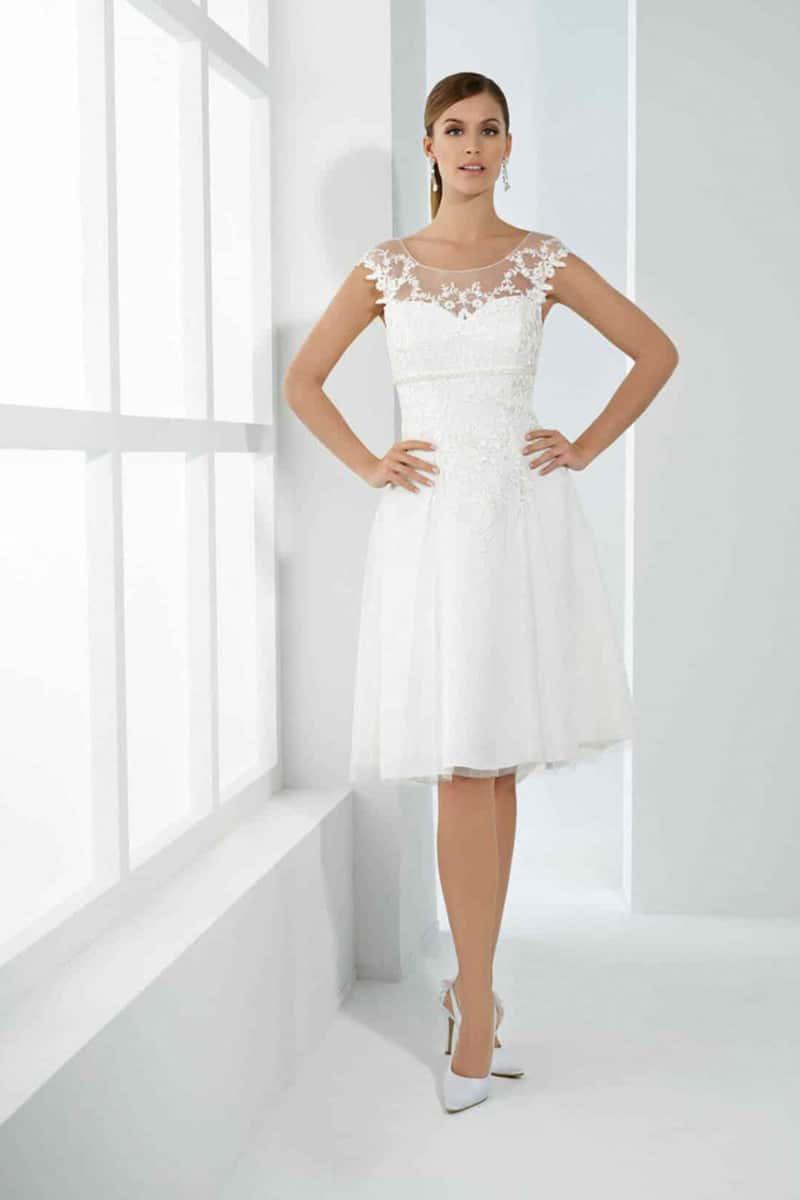 Das Kurze Brautkleid: Auffallend, Charmant, Edel Und Sexy