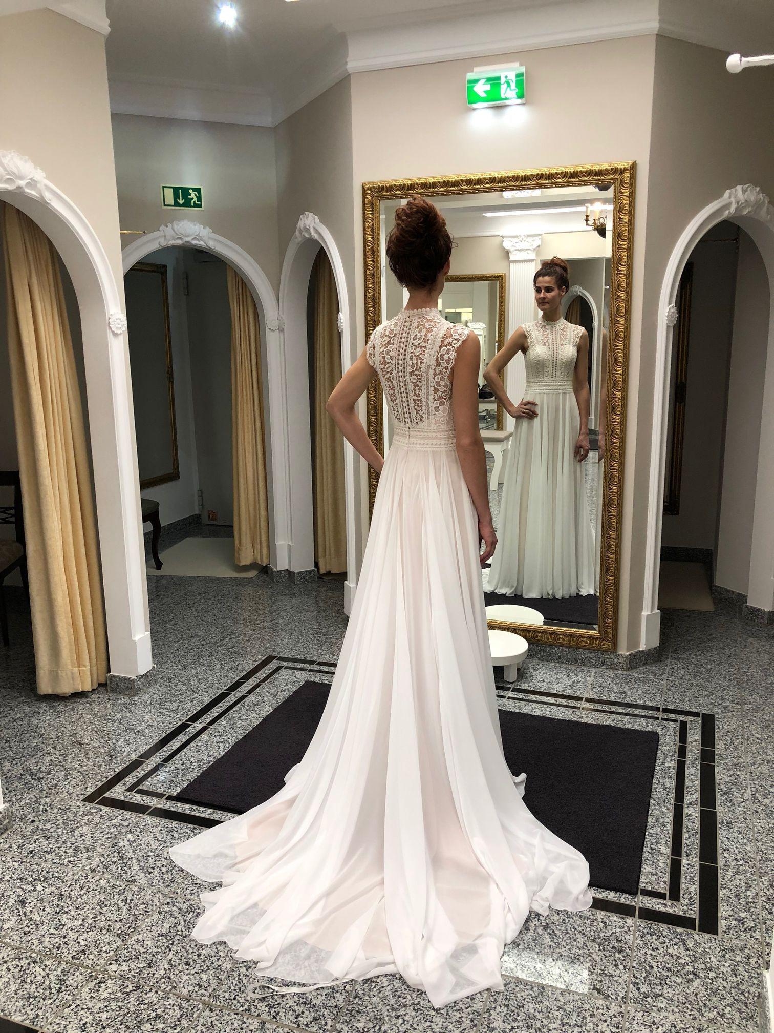 Das Perfekte Kleid Für Eine Boho-Hochzeit Im Vintage-Stil