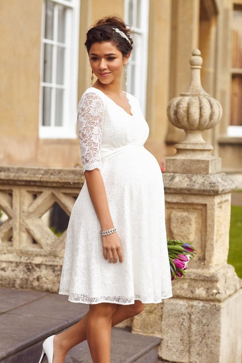 Das Richtige Brautkleid In Der Schwangerschaft