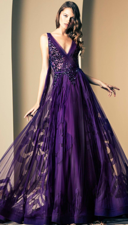 Deeply Purple | Schöne Kleider, Lila Kleid Hochzeit