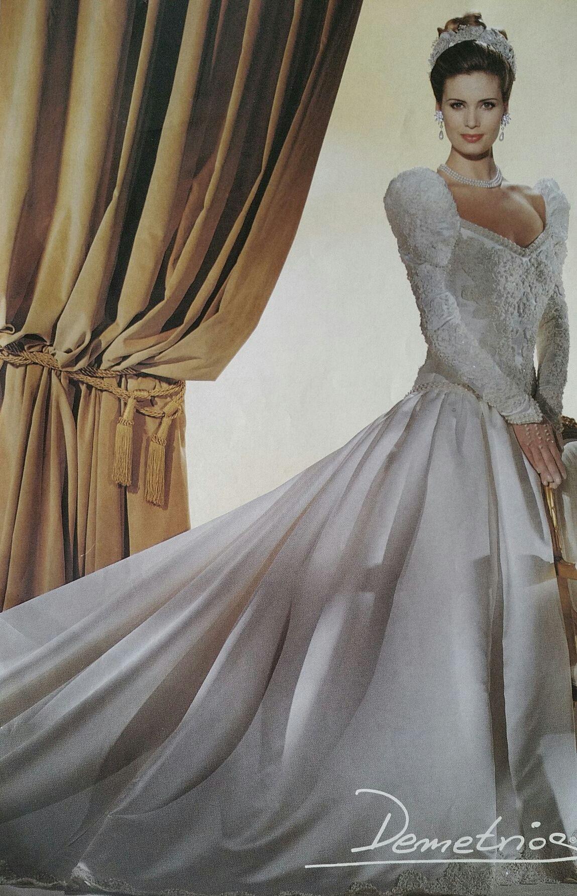 Demetrios 1993 | Brautkleid, Braut Und Kleider