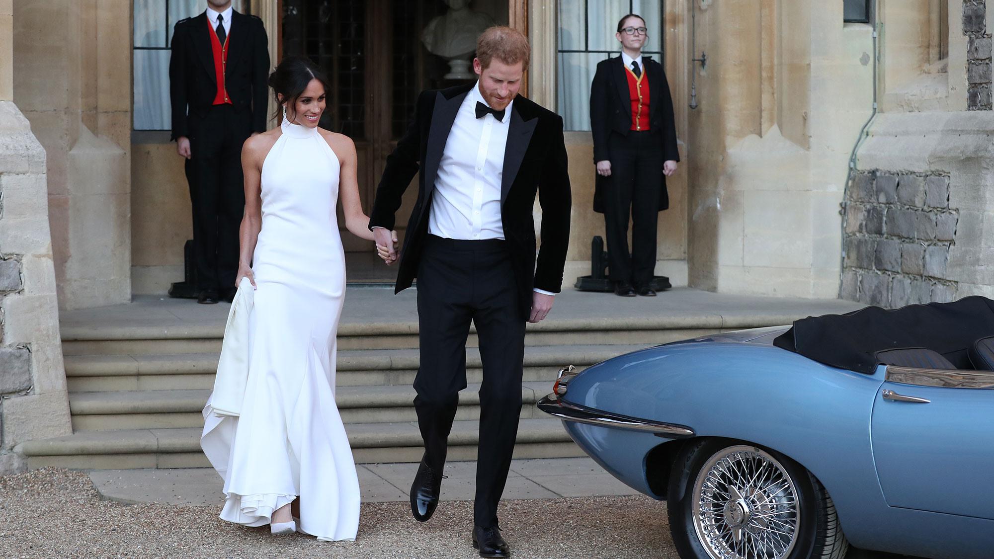 Der Königliche Hochzeitsempfang Von Prinz Harry Und Meghan