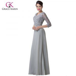 Designer Kreativ Kleid Hochzeit Langarm Spezialgebiet