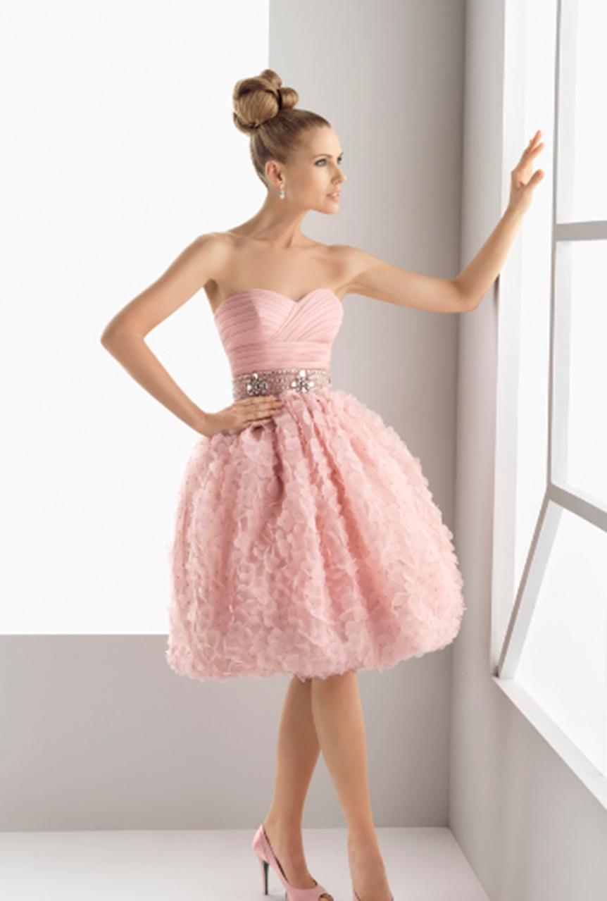 Designer Top Kleid Für Hochzeit Rosa Galerie - Abendkleid