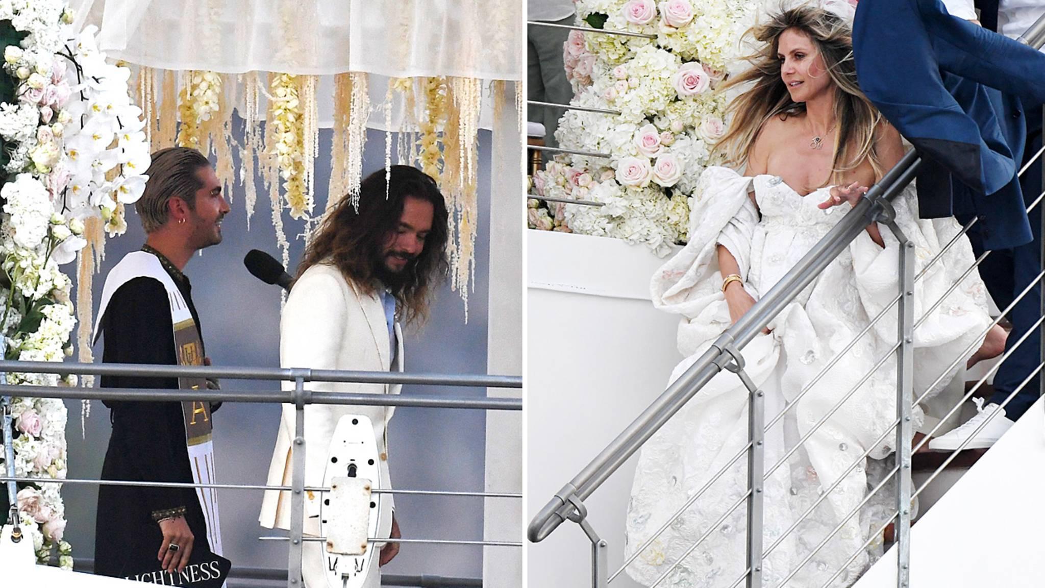 Die Hochzeit Von Heidi Klum Und Tom Kaulitz – Hat Sie Seinen Namen  Angenommen?