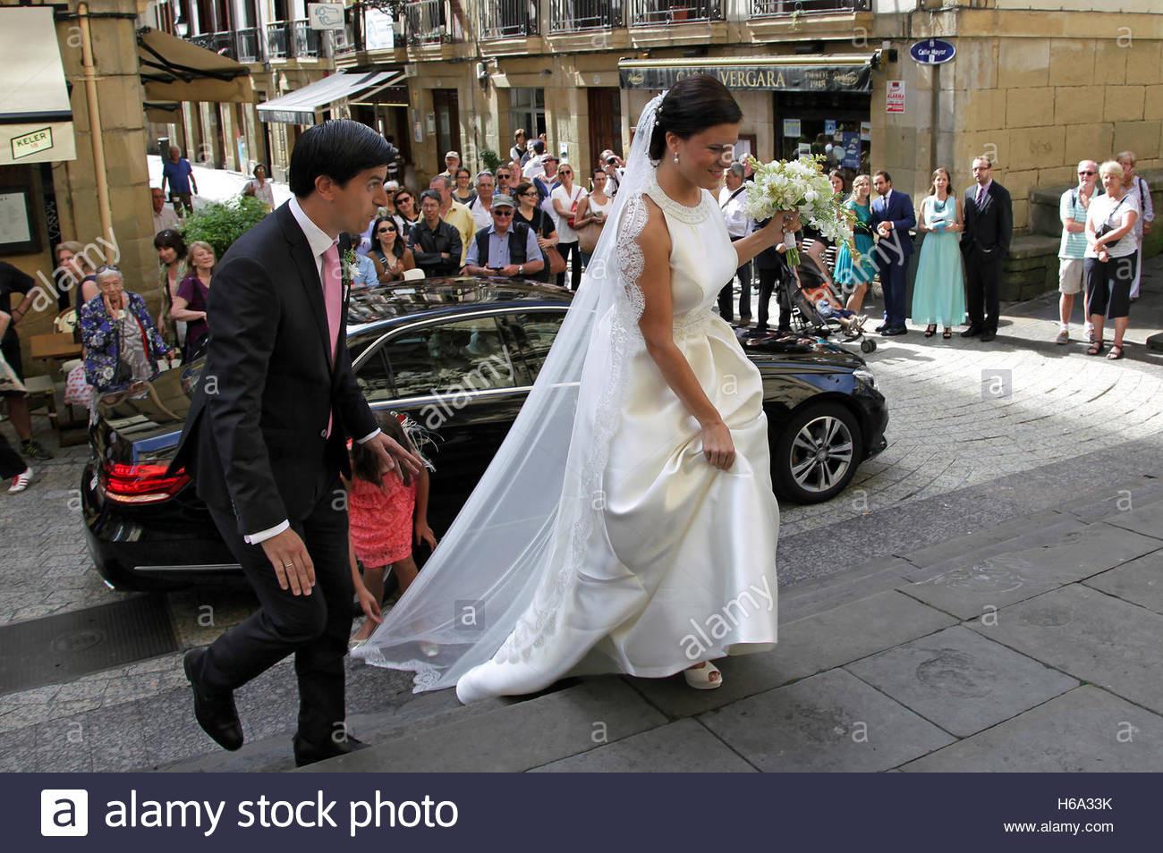 Die Spanische Hochzeit Stockfotos & Die Spanische Hochzeit