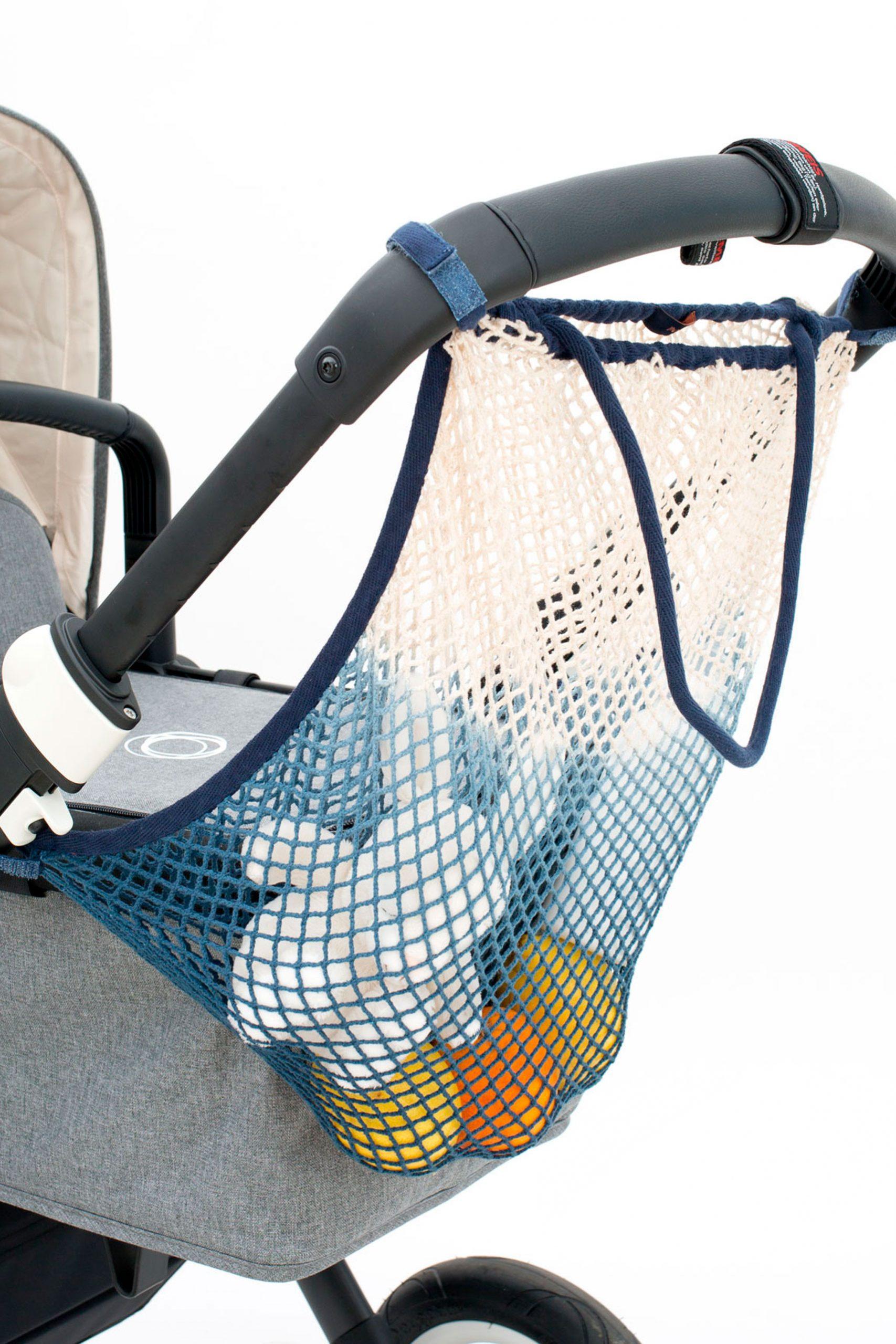 Dip Dye Kinderwagennetz Deep Ocean | Stroller Organiser