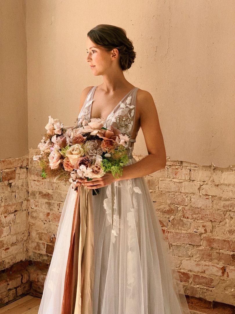 "Dreamy Wedding Dress ""Galatea"" Via Salon In Hamburg | Lovely"