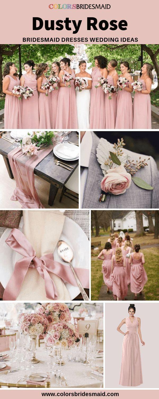Festliche Kleider Zur Hochzeit Altrosa - Abendkleid