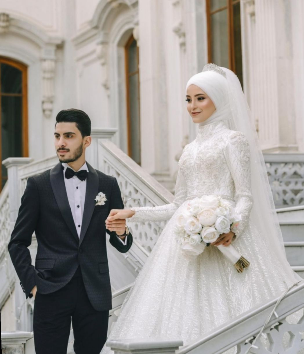 ✓ Dress Wedding Hijab Gowns #dress #hairgoals #hair