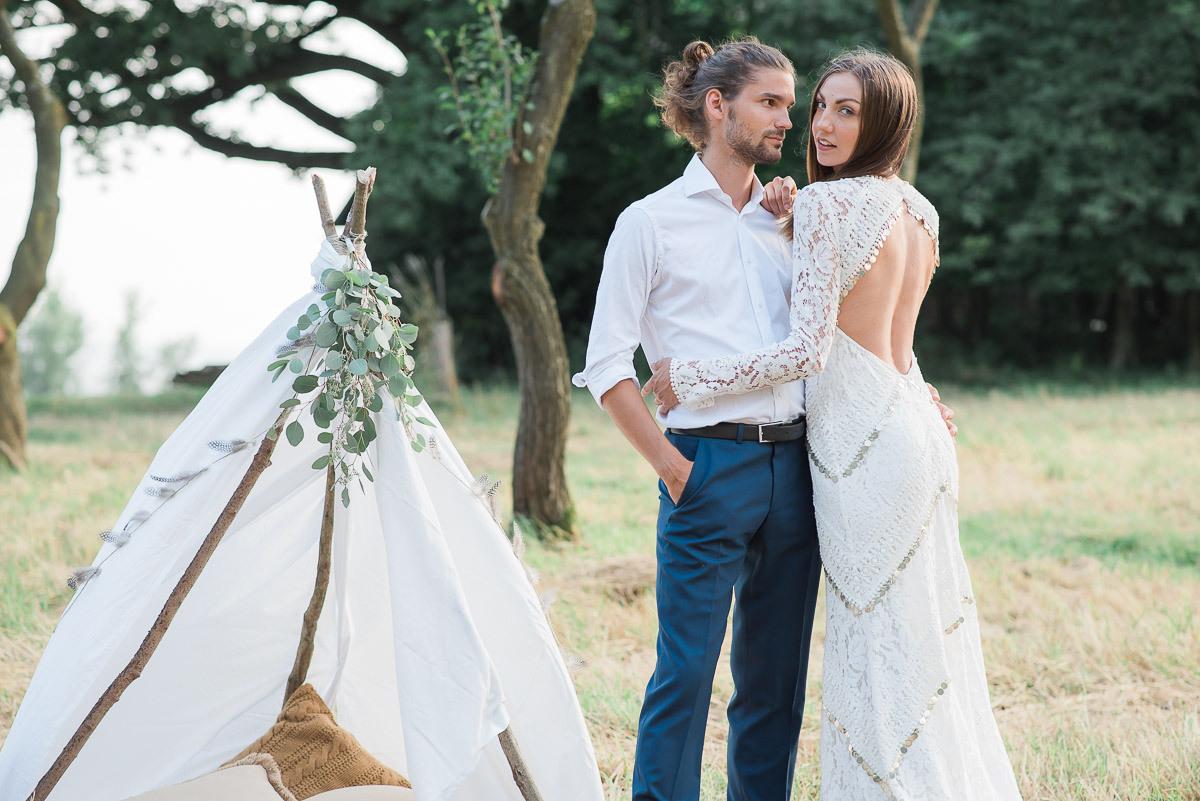 Eine Hippie-Hochzeit Im Boho-Stil - Styled Shooting