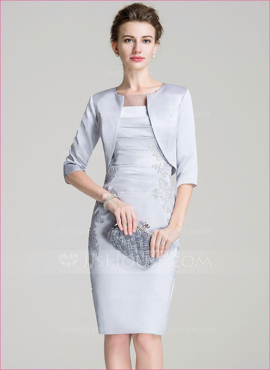 Elegante Kleider Zur Hochzeit Brautmutter In 2020 | Kleid
