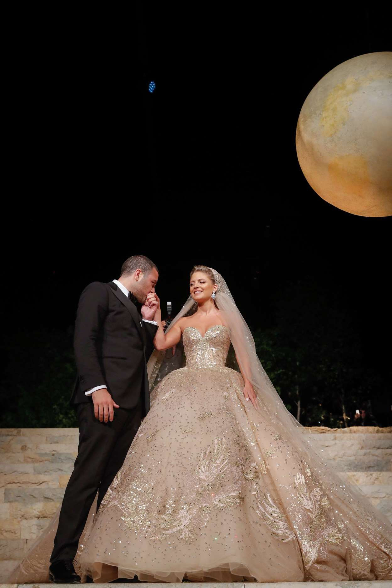 Elie Saab Designed The Most Beautiful Wedding Dress For His