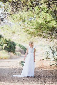 Elopement Hochzeit Zu Zweit In Spanien Am Meer   Brautbedarf