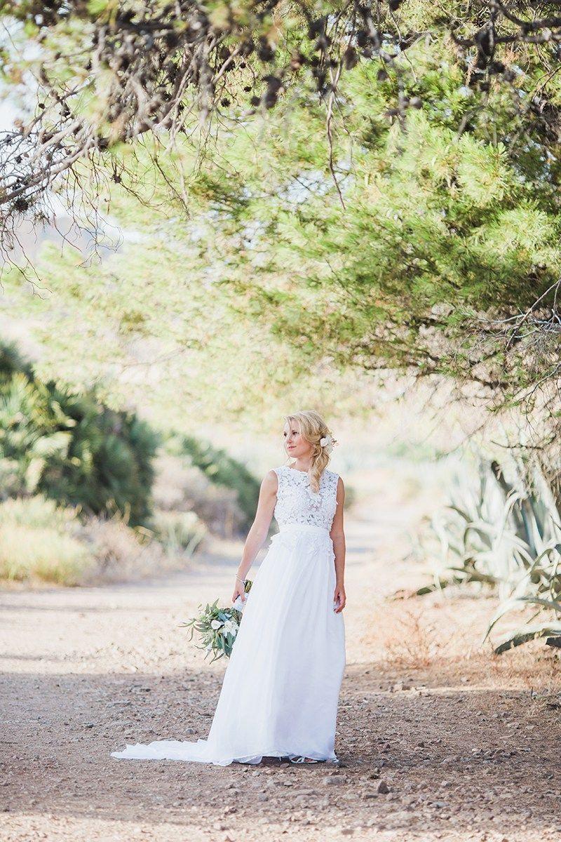 Elopement Hochzeit Zu Zweit In Spanien Am Meer | Brautbedarf