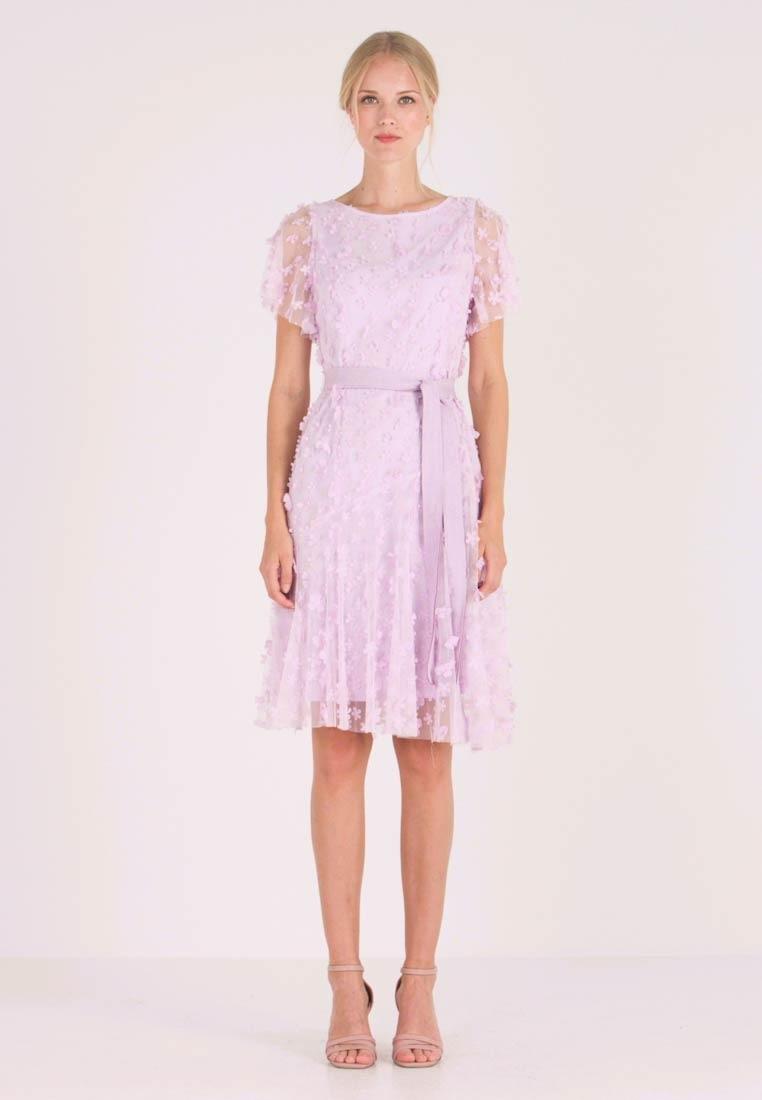 Embroidered Dress - Cocktailkleid/festliches Kleid - Lavender