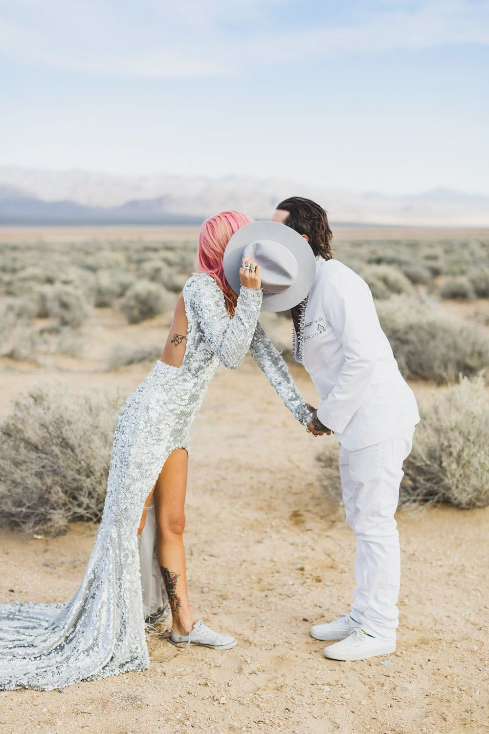 Epic Las Vegas Elopement: Ainsley & Sebastien · Rock N Roll