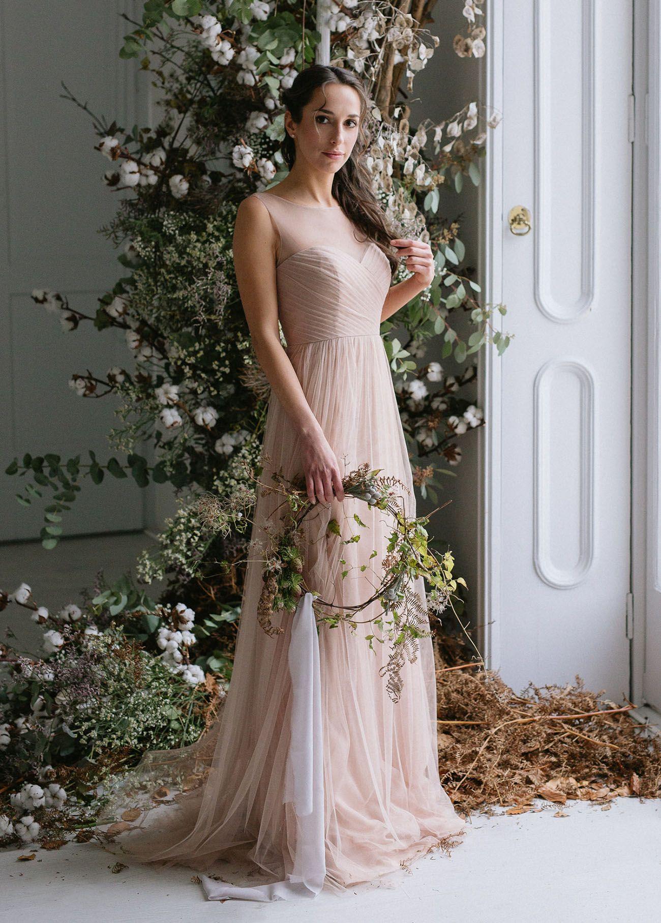 Erröten Brautjungfer Kleid | Brautjungfern, Braut Und