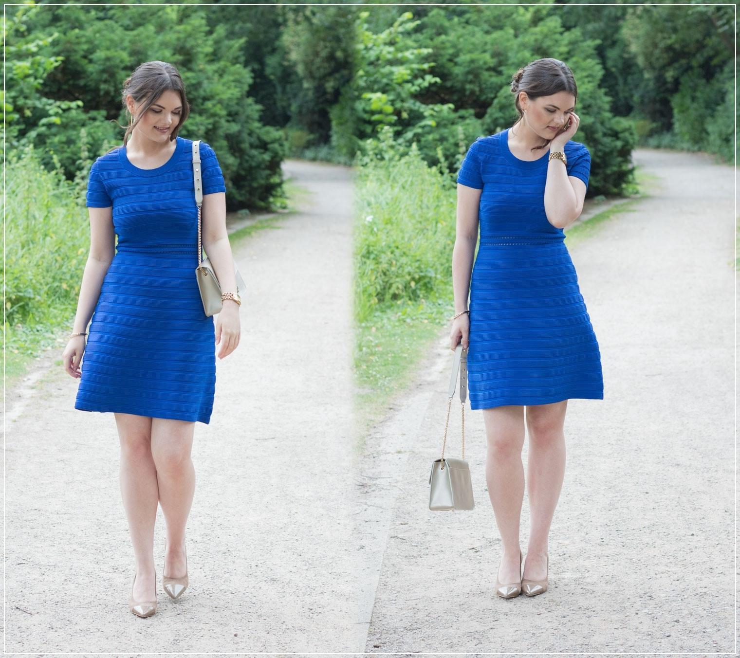 Erstaunlich Blaues Kleid Hochzeit Boutique - Abendkleid